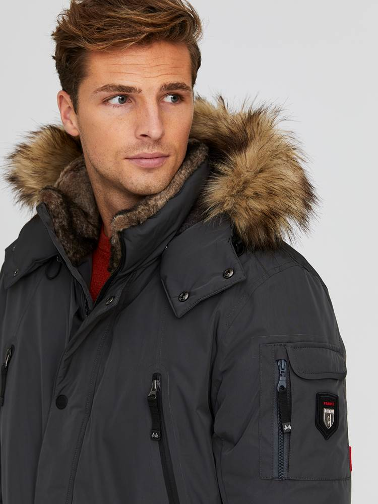 Vancouver Dunparkas 7244176_IFK-JEANPAUL-A20-Modell-front_41929_Vancouver Dun Parkas IFK_Vancouver Dunparkas IFK.jpg_Front||Front