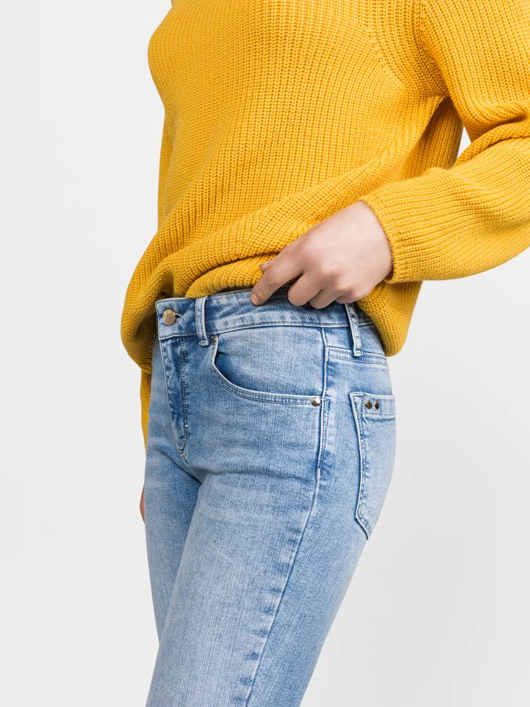 Sabine Cropped Jeans 7236886_DAF-JEANPAULFEMME-S19-Modell-front_58098_Sabine Cropped Jeans DAF.jpg_Front||Front