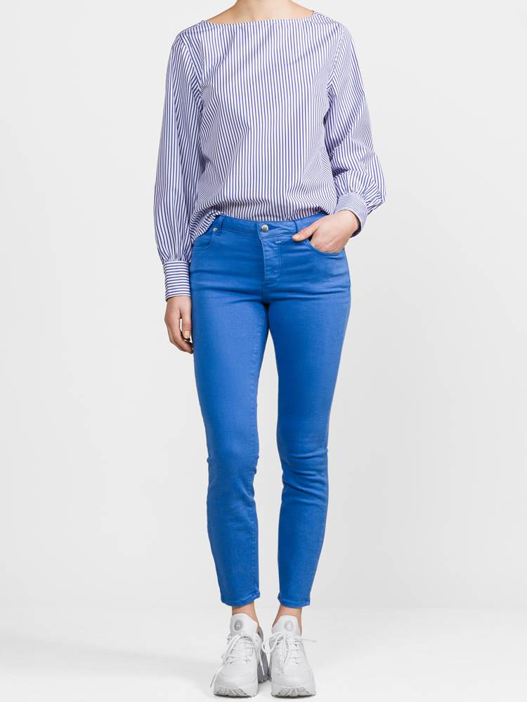 Sabine Color Cropped Bukse 7236885_EEO-JEANPAULFEMME-S19-Modell-front_41862_Sabine Color Cropped Bukse EEO.jpg_Front||Front