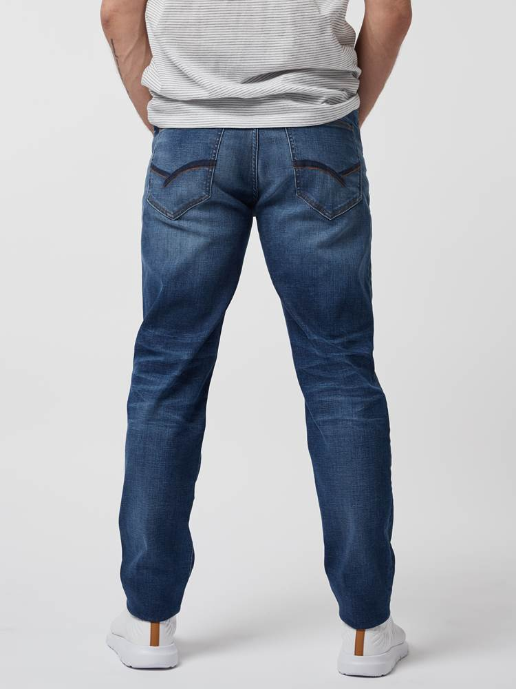 Regular Rod Compact Jeans 7246462_DAD-HENRYCHOICE-S21-Modell-back_86616_Regular Rod Compact Jeans DAD_Regular Rod Compact Jeans DAD 7246462 7246462 7246462 7246462.jpg_Back||Back