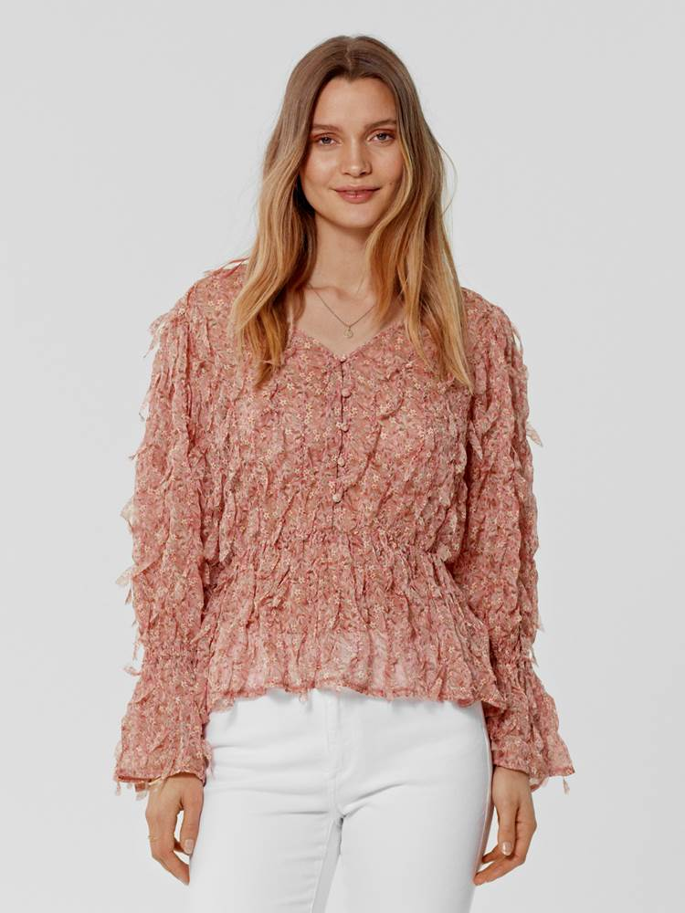 Sunndy Bluse 7246119_P11-MARIE PHILIPPE-S21-Modell-front_Sunndy Bluse P11.jpg_Front||Front