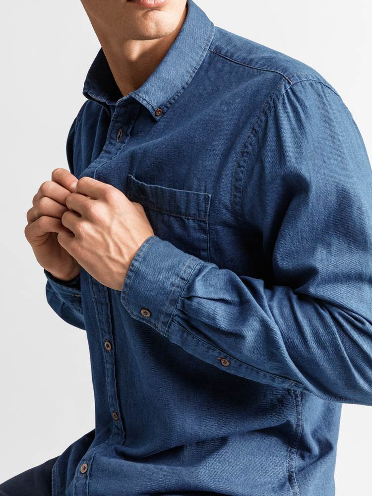 Pessac Skjorte - Regular Fit 7234195_JEAN PAUL_PESSAC SHIRT_DETAIL_L_EGV_Pessac Skjorte EGV_Pessac Skjorte - Regular Fit EGV.jpg_