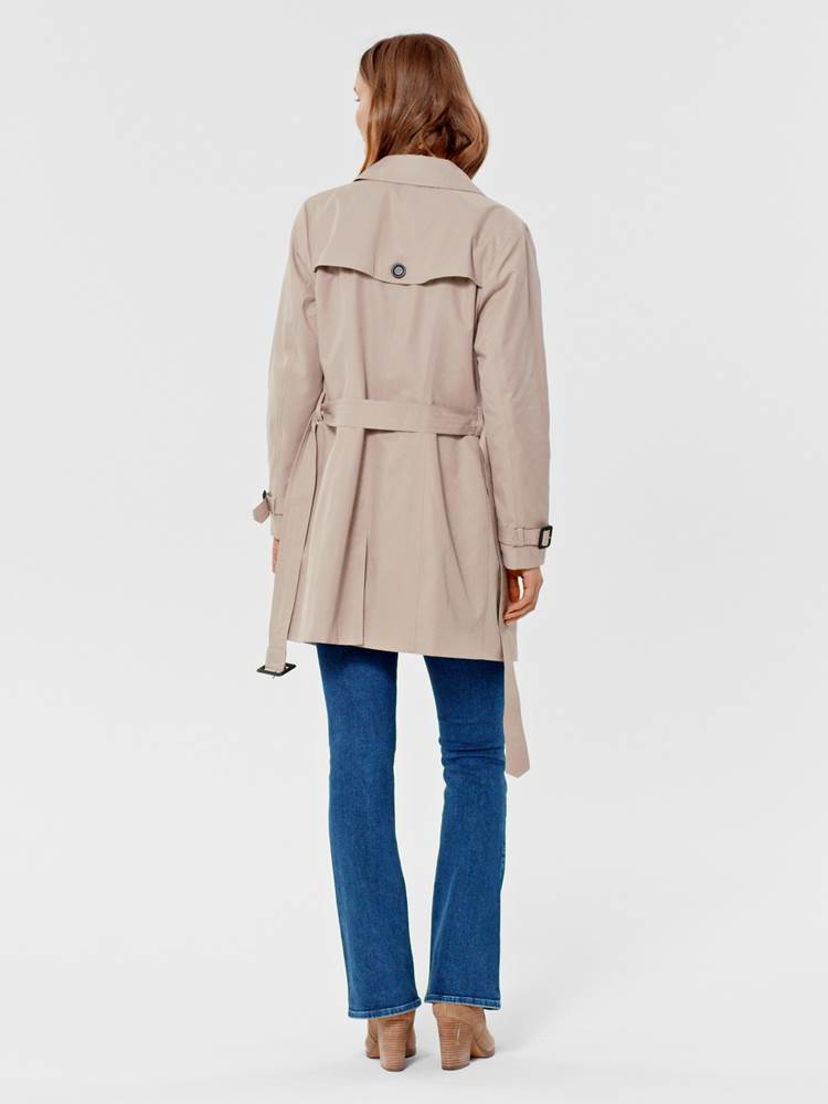 Mila Trench 7246098_AMG-MARIE PHILIPPE-S21-MODELL-BACK_Mila Trench AMG.jpg_Back||Back