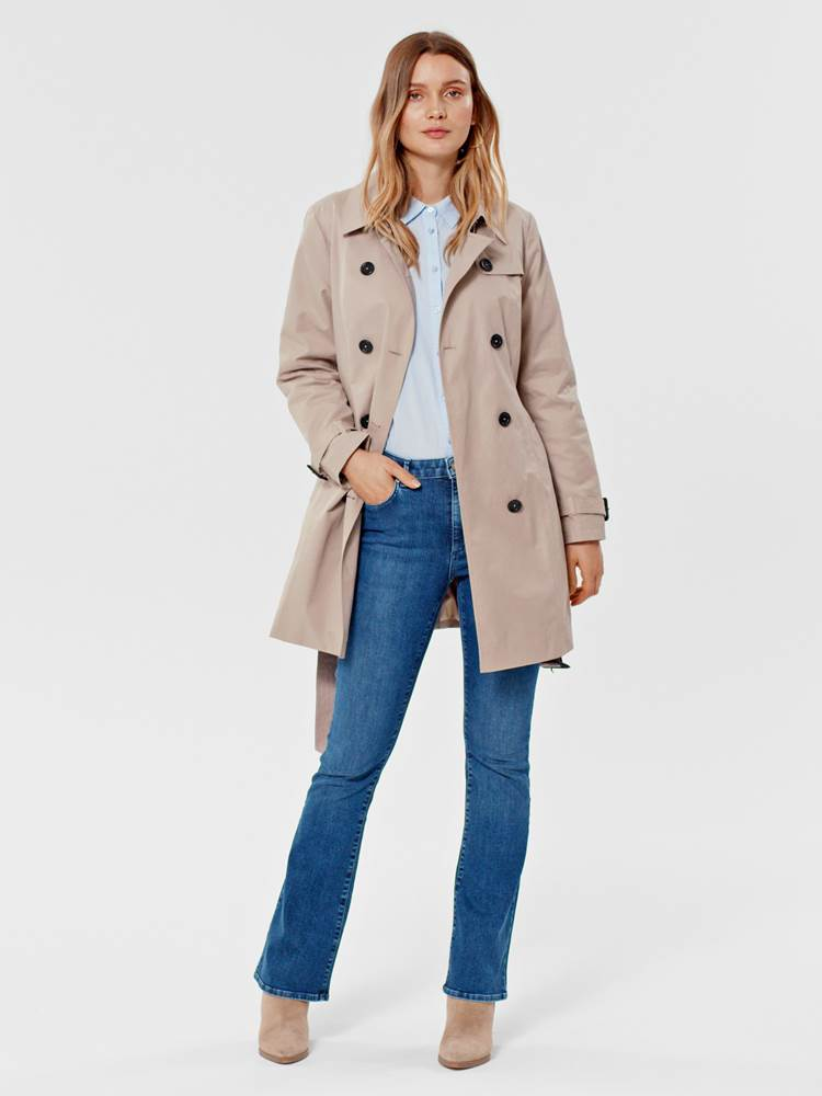 Mila Trench 7246098_AMG-MARIE PHILIPPE-S21-MODELL-FRONT_Mila Trench AMG.jpg_Front||Front