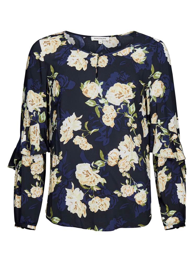 Cathrine Bluse 7237024_CAB-MARIEPHILIPPE-S19-front_89358_Cathrine Bluse.jpg_Front||Front