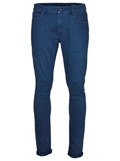 Slim Steve Blue Grey Str. Jeans D05
