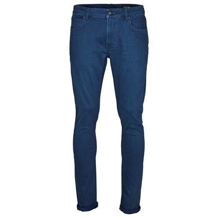 Slim Steve Blue Grey Str. Jeans