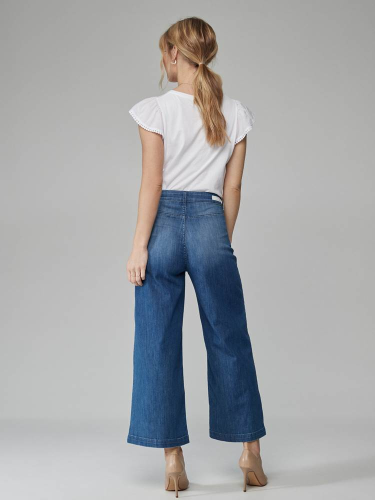 Anastasie Wide Jeans 7246760_DAB-JEANPAULFEMME-H21-Modell-back_39579_Anastasie Wide Jeans DAB.jpg_Back||Back