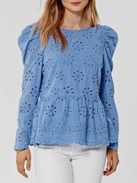 Astra Bluse 7246054_ECG-DONNA-S21-Modell-front_Astra Bluse ECG.jpg_Front||Front