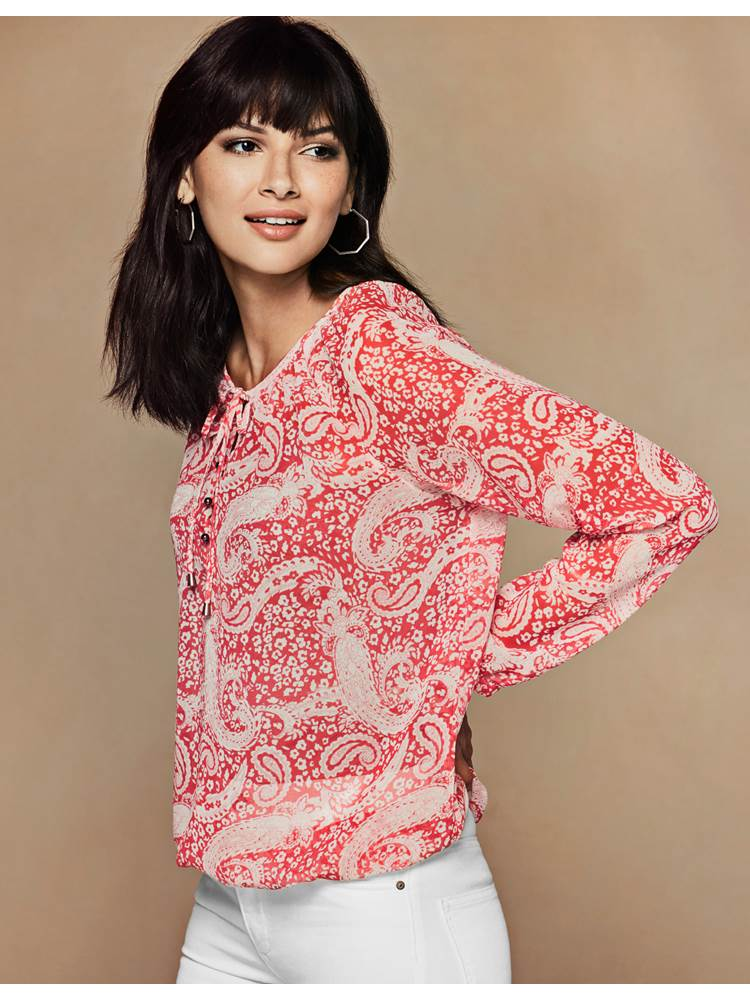 Indigonia Bluse 7237103_MGR-VAVITE-S19-modell-front_Indigonia Bluse MGR.jpg_Front||Front