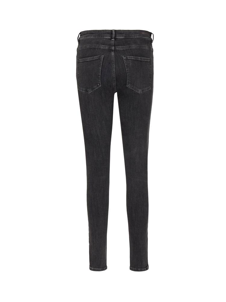 Sophia High Waist Blk. Powerstretch Jeans 7239206_D05-VA VITE-A19-BACK_Sophia High Waist Blk. Powerst.jpg_Back||Back