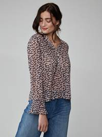 Maud Bluse 7245847_MHN-JEANPAULFEMME-S21-Modell-front_7181_Maud Blouse MHN_Maud Bluse MHN.jpg_Front||Front
