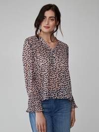 Maud Bluse 7245847_MHN-JEANPAULFEMME-S21-Modell-front_95231_Maud Blouse MHN_Maud Bluse MHN.jpg_Front||Front