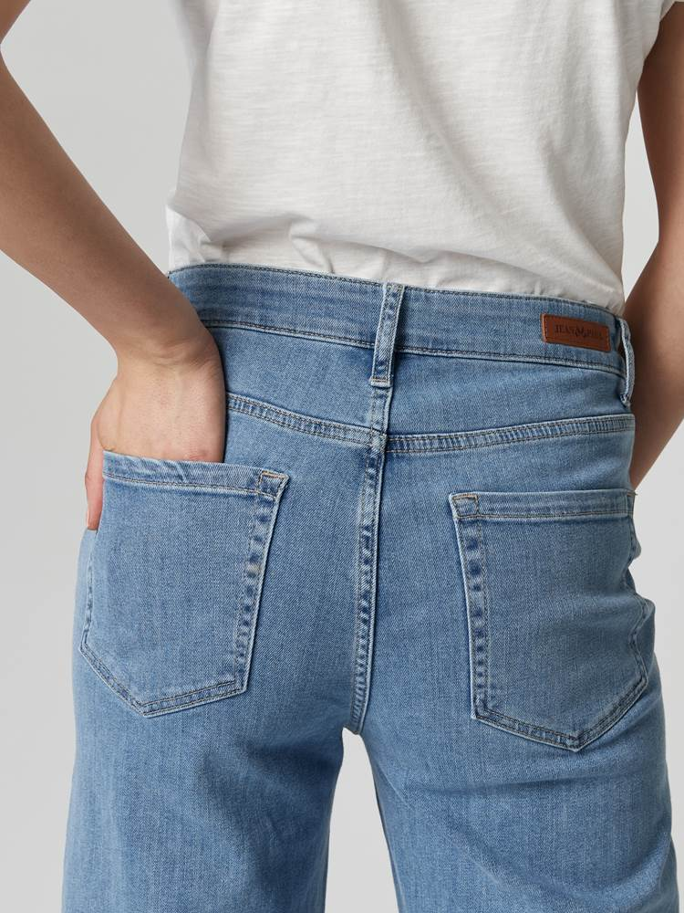 Camille Cropped Jeans 7246035_DAF-JEANPAULFEMME-S21-Modell-back_56535_Camille Cropped Jeans DAF.jpg_Back||Back