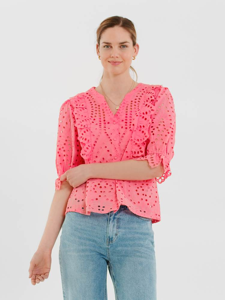Willow Bluse 7247146_MOB-DONNA-H21-Modell-front_Willow Bluse MOB.jpg_Front||Front