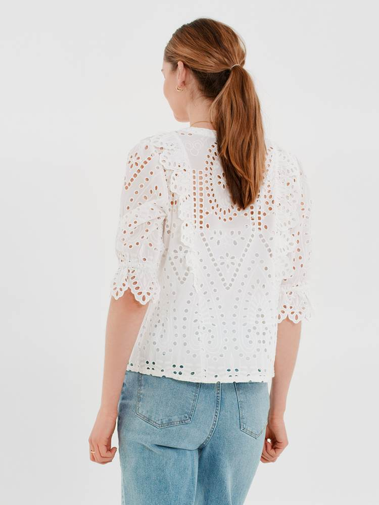Willow Bluse 7247146_O68-DONNA-H21-Modell-back_Willow Bluse O68.jpg_Back||Back
