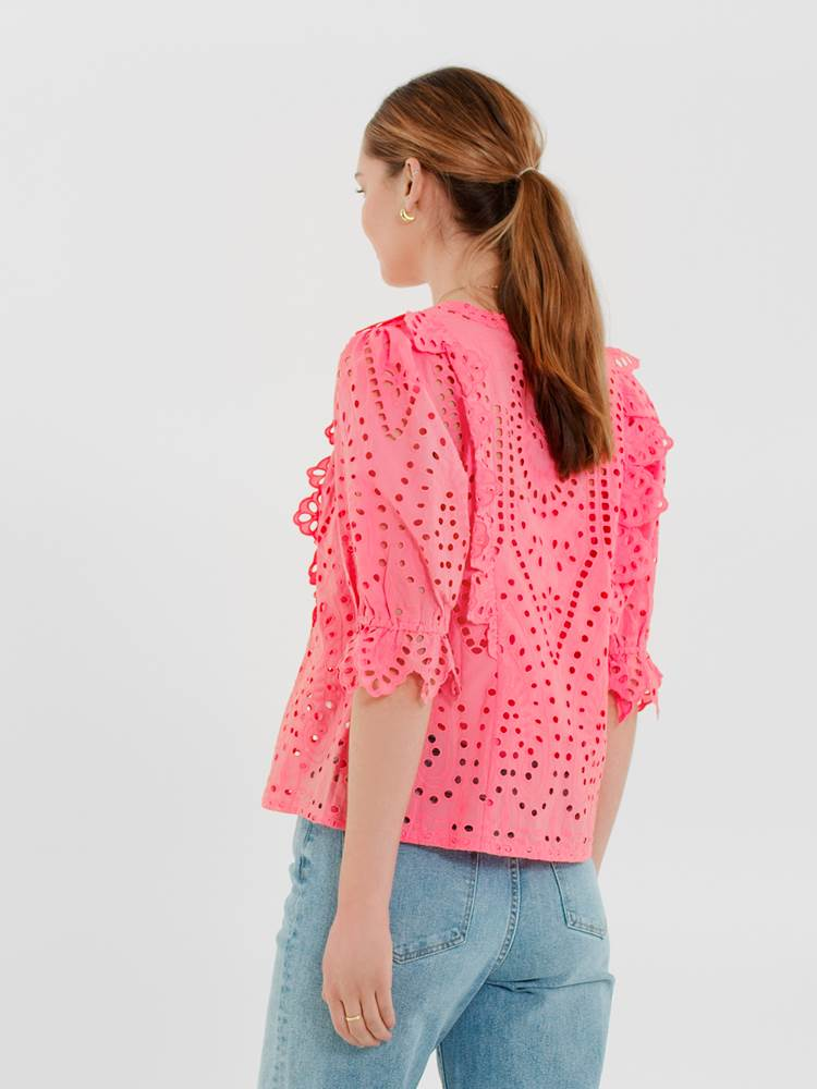 Willow Bluse 7247146_MOB-DONNA-H21-Modell-back_Willow Bluse MOB.jpg_Back||Back