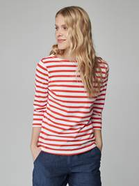 Sailor Stripet Top 7246546_K3S-JEANPAULFEMME-H21-Modell-front_1540_Sailor Stripet Top K3S.jpg_Front||Front