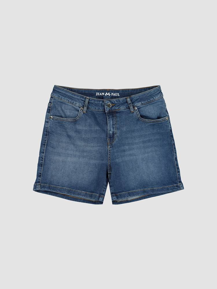 Ginette Denim Shorts 7247052_D05-JEANPAULFEMME-H21-front_56218_Ginette Denim Shorts D05.jpg_Front||Front