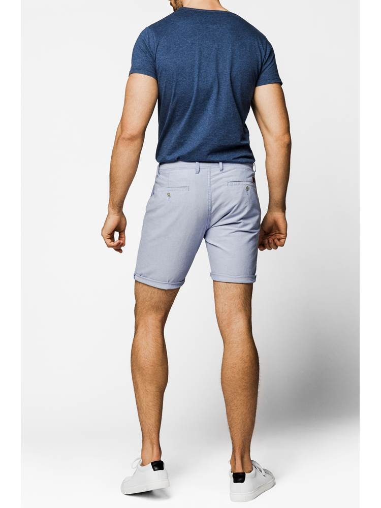 Dariano Oxford Shorts 7237919_ENX-MARIOCONTI-H19-Modell-back_75238_Dariano Oxford Shorts ENX.jpg_Back||Back