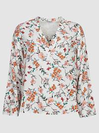 Henriette Printet Bluse 7237991_O79-JEANPAULFEMME-H19-front_12251_Henriette Printed Blouse_Henriette Printet Bluse O79.jpg_Front||Front