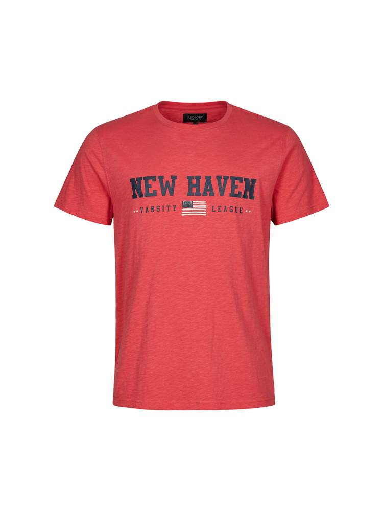 New Haven T-skjorte 7246181_MQD-Redford-S21-Front_New Haven T-skjorte MQD_New Haven t skjorte.jpg_Front||Front