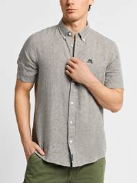 Ambroise Linskjorte -  Regular Fit 7237905_JEAN PAUL_AMBROISE LINEN SHIRT_FRONT_L_GOR_Ambroise Linskjorte -  Regular Fit GOR.jpg_