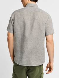 Ambroise Linskjorte -  Regular Fit 7237905_JEAN PAUL_AMBROISE LINEN SHIRT_BACK_L_GOR_Ambroise Linskjorte -  Regular Fit GOR.jpg_