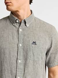 Ambroise Linskjorte -  Regular Fit 7237905_JEAN PAUL_AMBROISE LINEN SHIRT_DETAIL_L_GOR_Ambroise Linskjorte -  Regular Fit GOR.jpg_