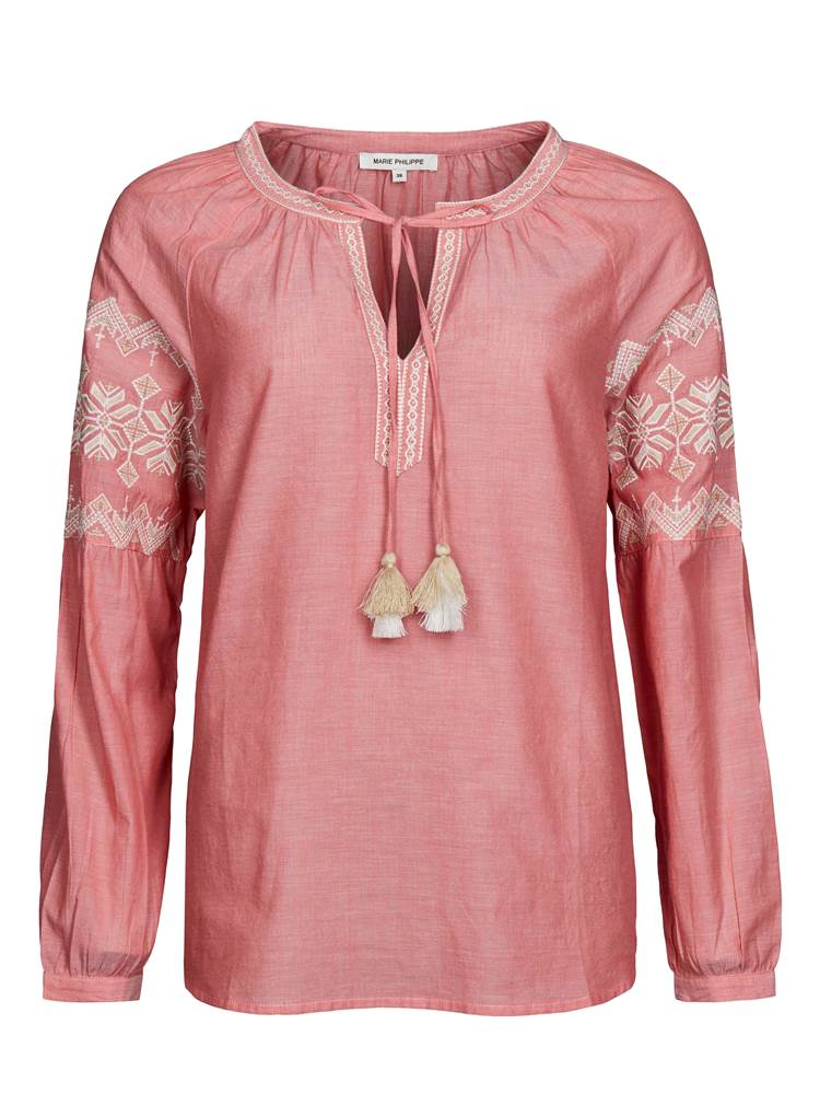 Constanse Bluse 7237043_MOB-MARIEPHILIPPE-S19-front_Constanse Bluse_Constanse Bluse MOB.jpg_Front||Front