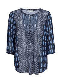 Enid Bluse 7238525_EM1-MARIE PHILIPPE-S19-front_Enid Bluse_Enid Bluse EM1.jpg_Front||Front