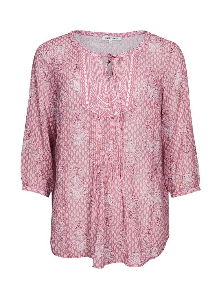 Enid Bluse 7238525_MGR-MARIE PHILIPPE-S19-front_Enid Bluse_Enid Bluse MGR.jpg_Front||Front