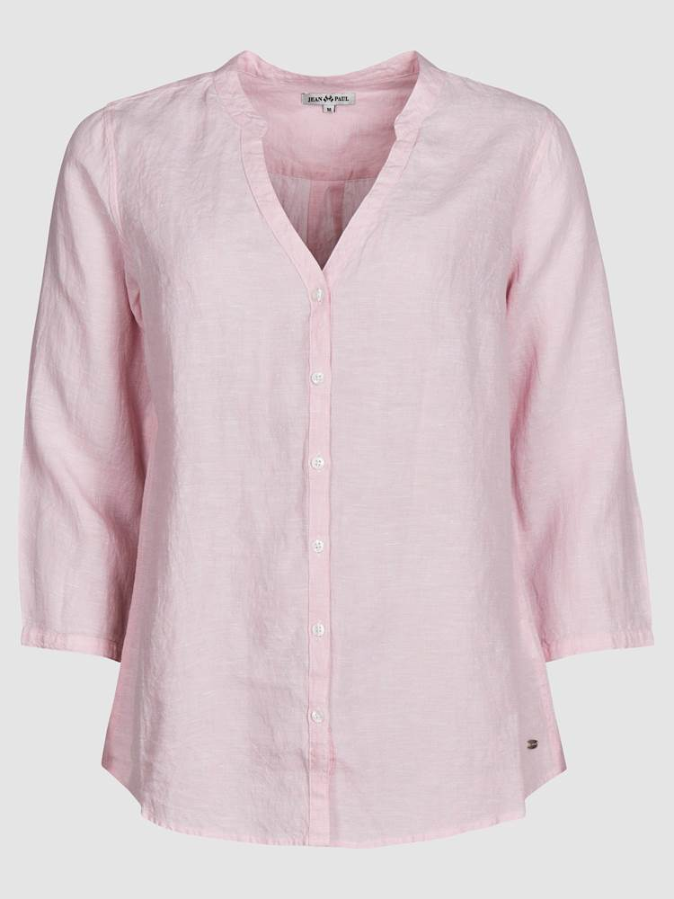 Lucia Linbluse 7237957_MJR-JEANPAULFEMME-H19-front_11765_Lucia Linen Blouse_Lucia Linbluse MJR.jpg_Front||Front