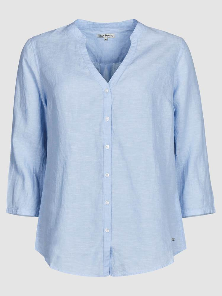 Lucia Linbluse 7237957_EOP-JEANPAULFEMME-H19-front_81577_Lucia Linen Blouse_Lucia Linbluse EOP.jpg_Front||Front