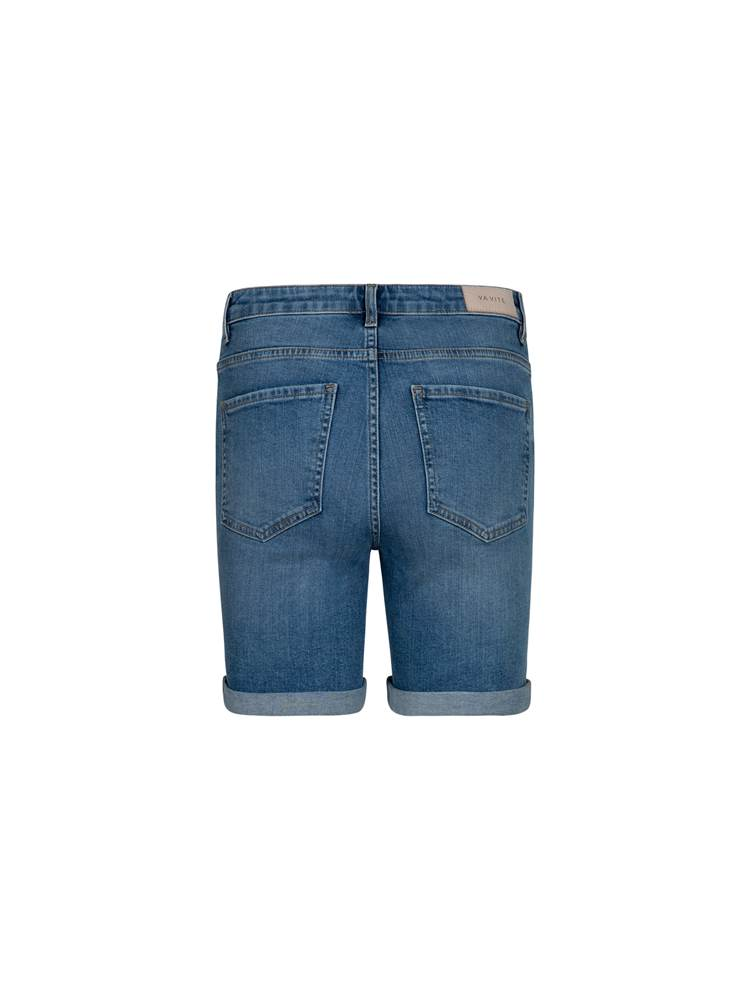 Sophia Denim Shorts 7245951_DAD-VA VITE-H21-back_Sophia Denim Shorts_Sophia Denim Shorts DAD.jpg_Back||Back