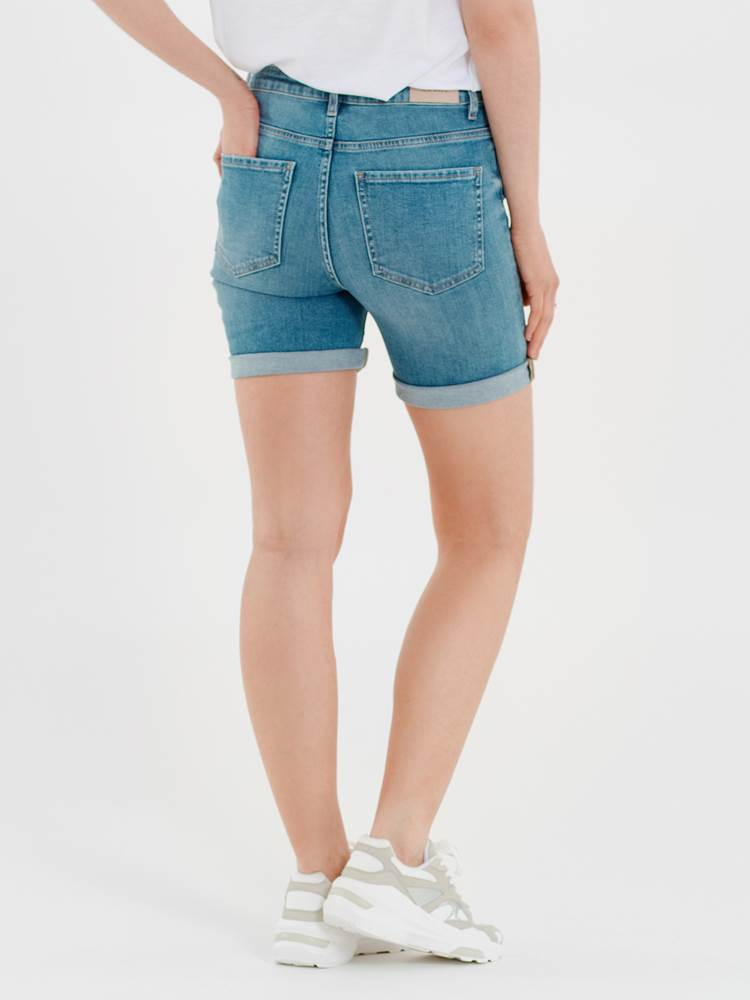 Sophia Denim Shorts 7245951_DAD-VA VITE-H21-MODELL-BACK_Sophia Denim Shorts DAD.jpg_Back||Back