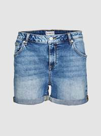 Ginette Denim Shorts 7237762_DAF-JEANPAULFEMME-H19-front_Ginette Denim Shorts_Ginette Denim Shorts DAF.jpg_Front||Front