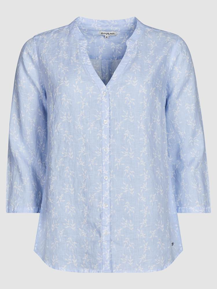 Lucia Blomstret Linbluse 7237958_EOP-JEANPAULFEMME-H19-front_85323_Luciafloral Linen Blouse_Lucia Blomstret Linbluse EOP.jpg_Front  Front