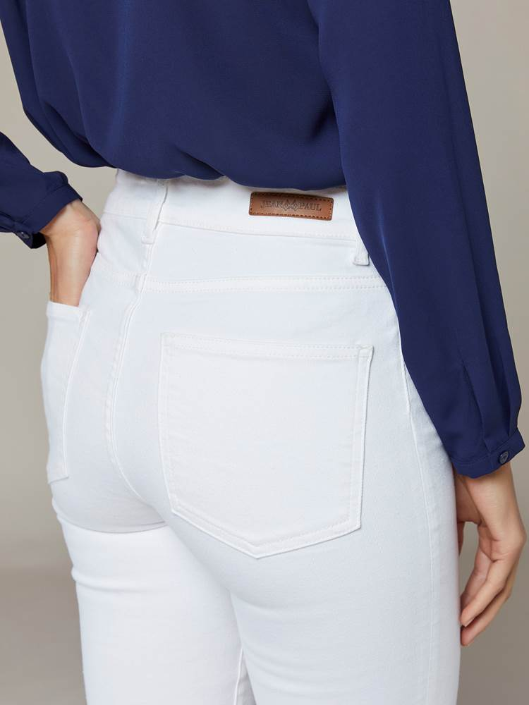 Sabine Cropped Color Jeans 7241653_JEAN PAUL_S20_SABINE COLOR CROPPED JEANS_O68_999_BACK_Sabine Cropped Color Jeans O68.jpg_