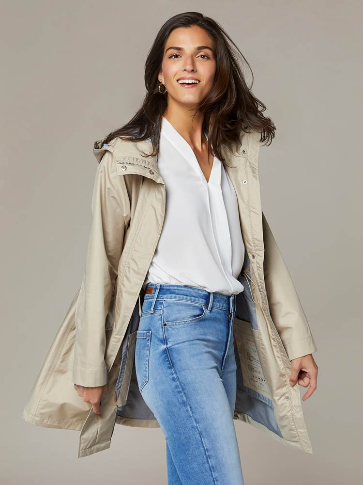 Anna Parka 7241837_I4Y-JEANPAULFEMME-S20-Modell-front_35052_Anna Regnjakke I4Y_Anna Parka I4Y.jpg_Front||Front