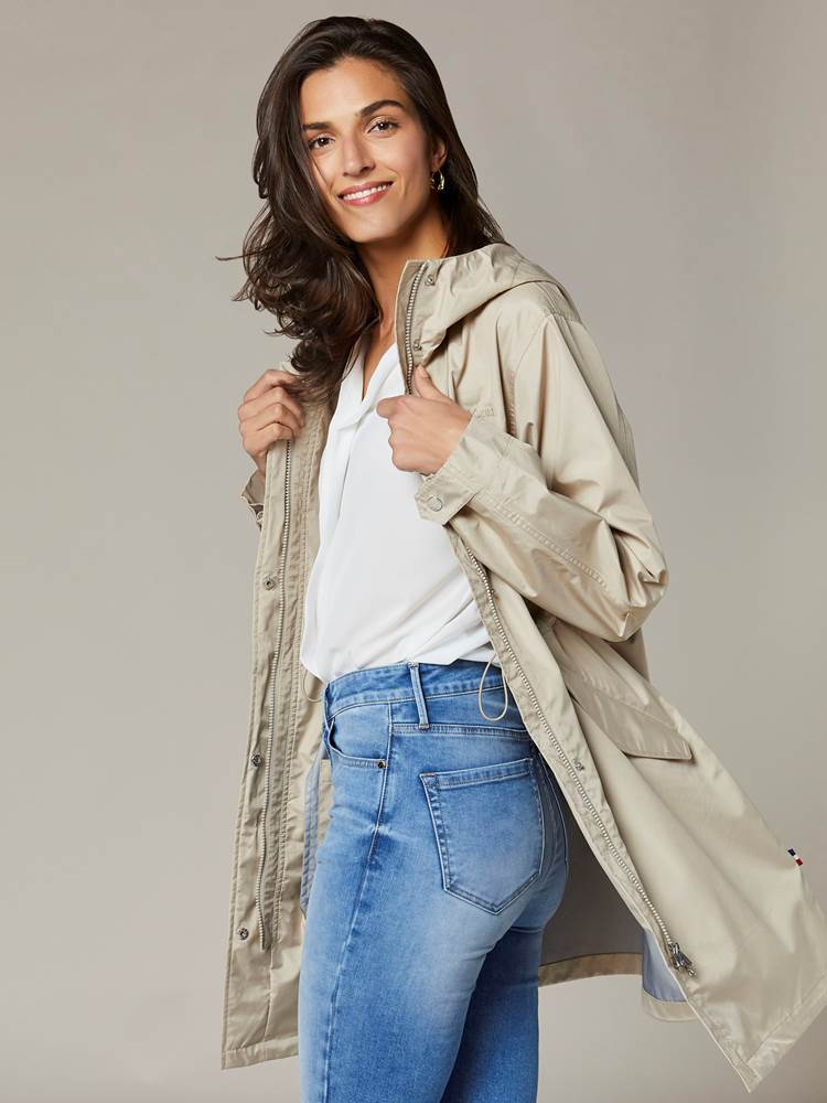 Anna Parka 7241837_I4Y-JEANPAULFEMME-S20-Modell-left_45178_Anna Regnjakke I4Y_Anna Parka I4Y.jpg_Left||Left