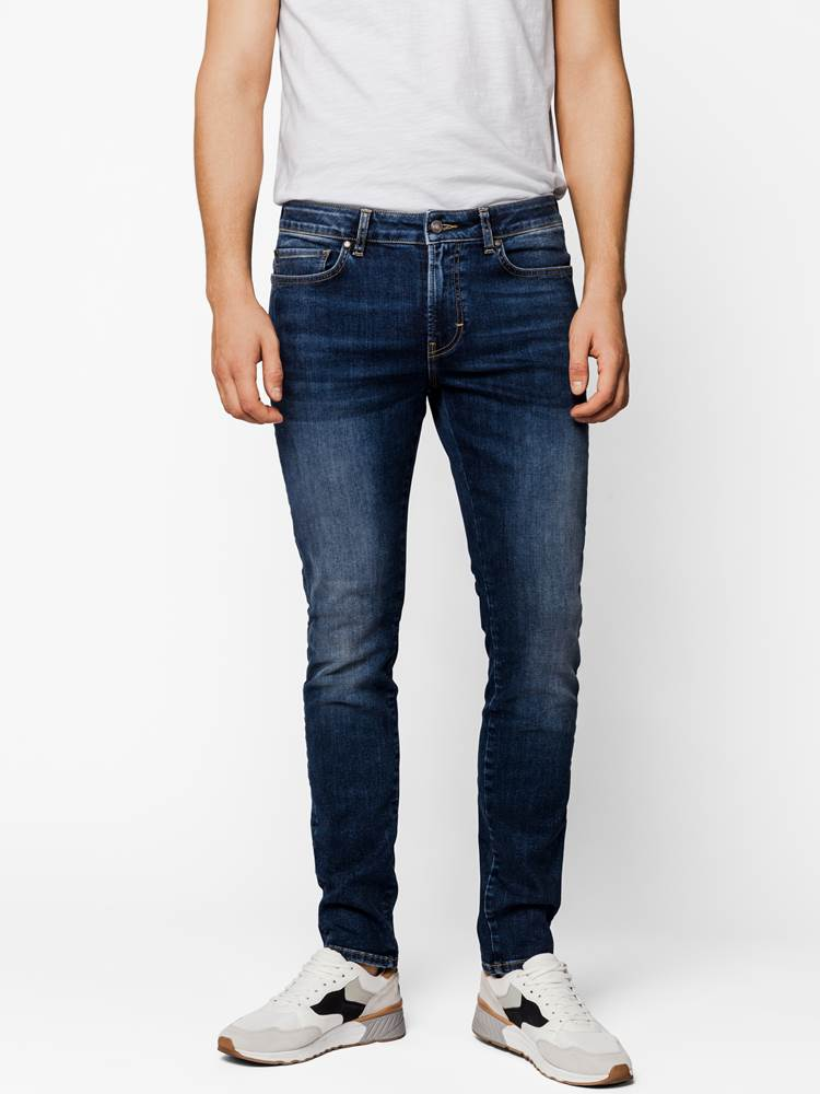 Skinny Nick Neptune Stretch Jeans 7242012_DAB-Mario Conti-S20-Modell-Front_Skinny Nick Neptune Stretch Jeans DAB.jpg_Front||Front