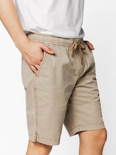 Relaxed twill Shorts ABI