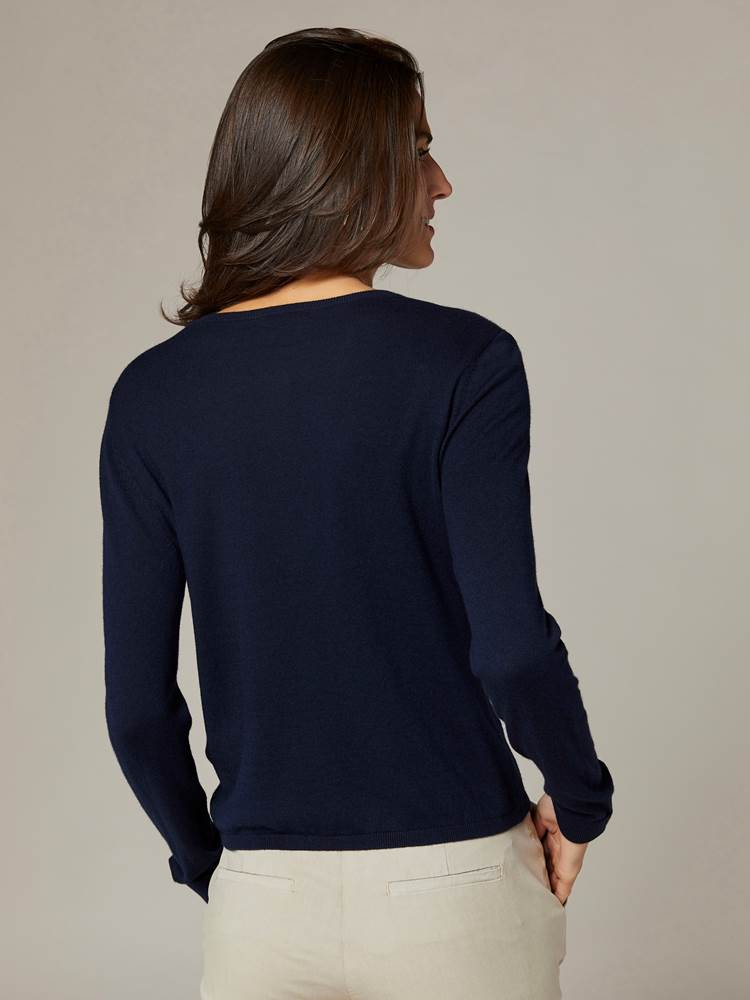 Agnes Cardigan 7241614_EM6-JEANPAULFEMME-S20-Modell-back_77609_Agnes Cardigan EM6.jpg_Back||Back