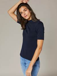 Azurine Topp 7241963_EM6-JEANPAULFEMME-S20-Modell-front_69963_Azurine Topp EM6.jpg_Front||Front