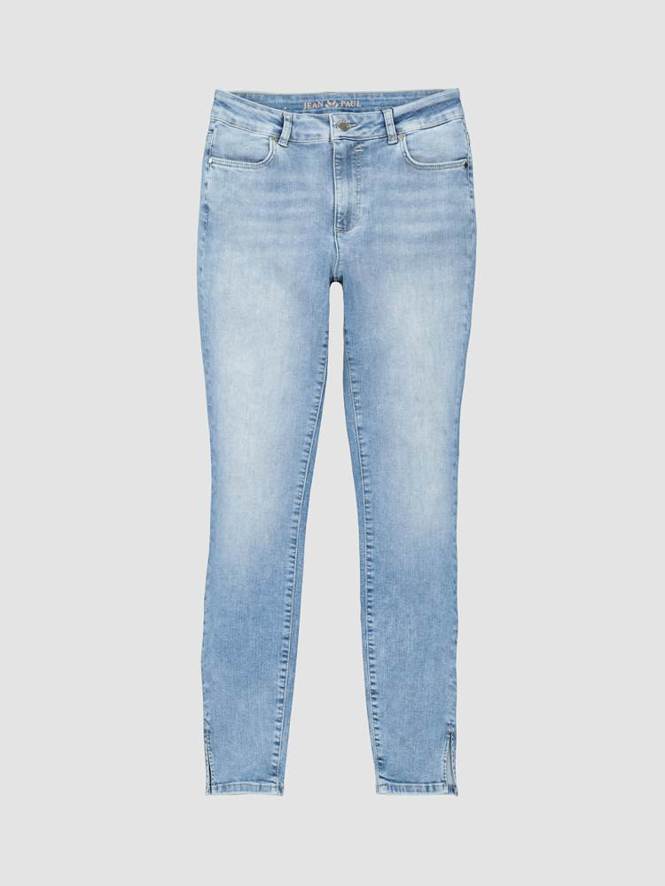 Sabine Cropped Bukse 7241652_DAF-JEANPAULFEMME-S20-front_76290_Sabine Cropped Jeans_Sabine Cropped Bukse DAF.jpg_Front||Front