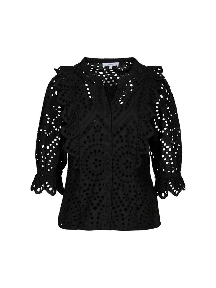 Willow Bluse 7243374_CAB-MCDONNA-H20-front_63256_Willow Bluse_Willow Bluse CAB.jpg_Front||Front