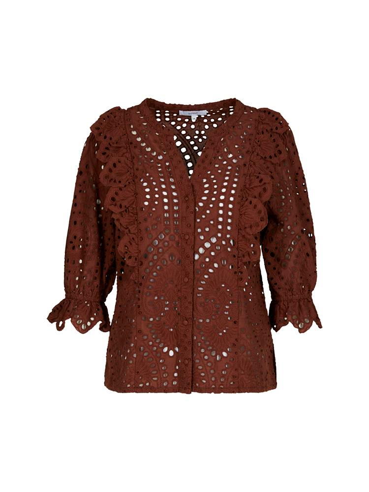 Willow Bluse 7243374_AGK-MCDONNA-H20-front_61800_Willow Bluse_Willow Bluse AGK.jpg_Front||Front