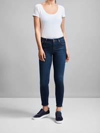 Sabine Cropped Jeans 7217868_JEAN PAUL_SABINE CROPPED JEANS_FRONT_S_JPF EA5 SABINE CROPPED JEANS_D04_Sabine Cropped Jeans D04.jpg_Front||Front