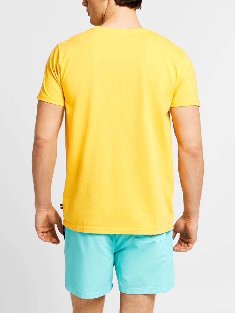 Weather T-Skjorte 7238099_JEAN PAUL_WEATHER COLOR TEE_BACK_QAG_Weather T-Skjorte QAG.jpg_